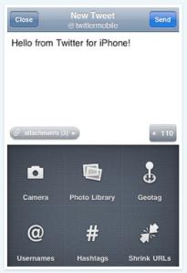 Twitter iPhone App