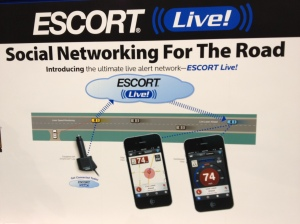 Escort Radar/Laser Detector's cloud service offering