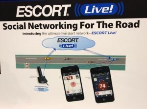 Escort Radar/Laser Detector's cloud service offering