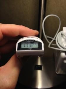 United Healthcare Pedometer day 1