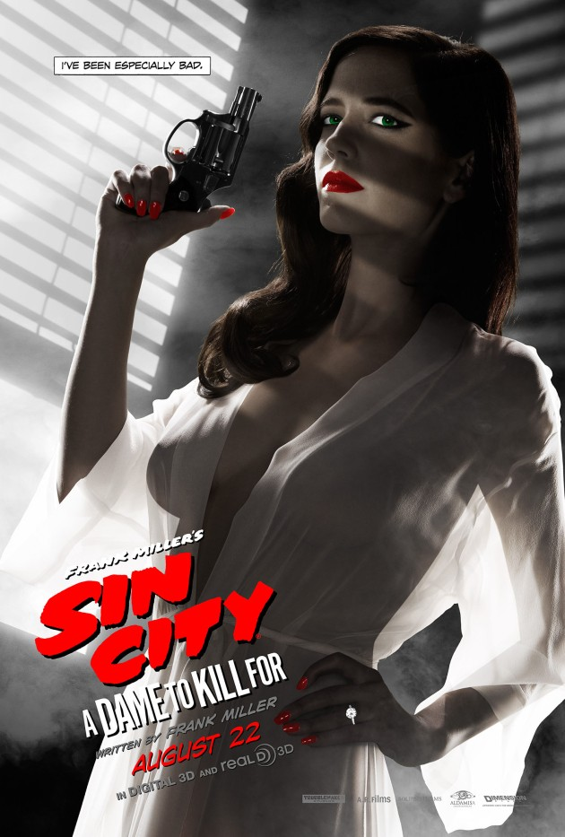 Eva Green, Sin City 2 Poster