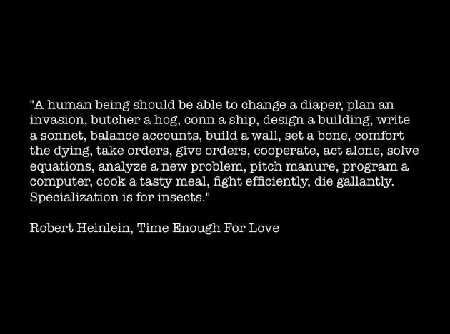 Robert Heinlein Time Enough for Love